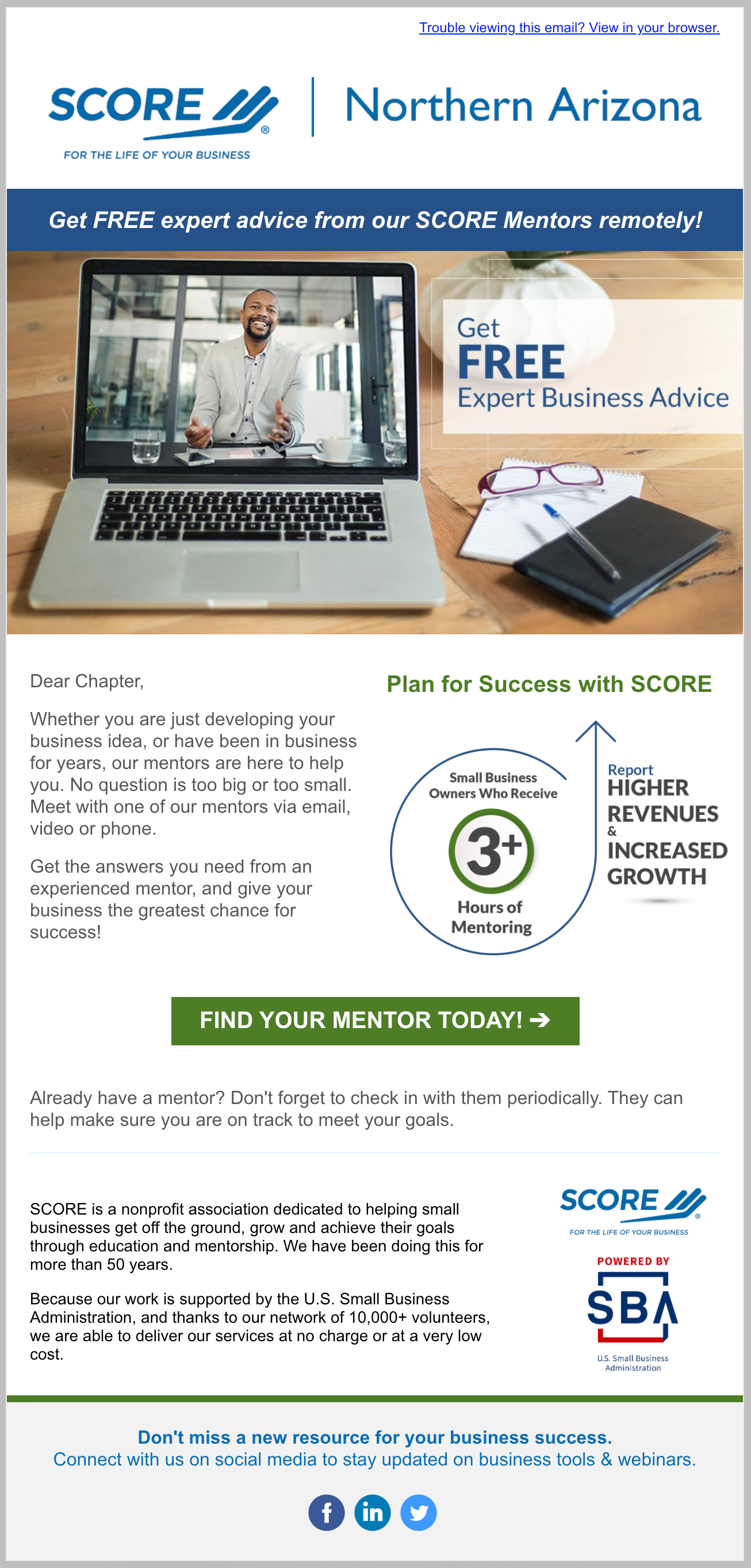 Automated Welcome Series : Step 2 Get a Mentor